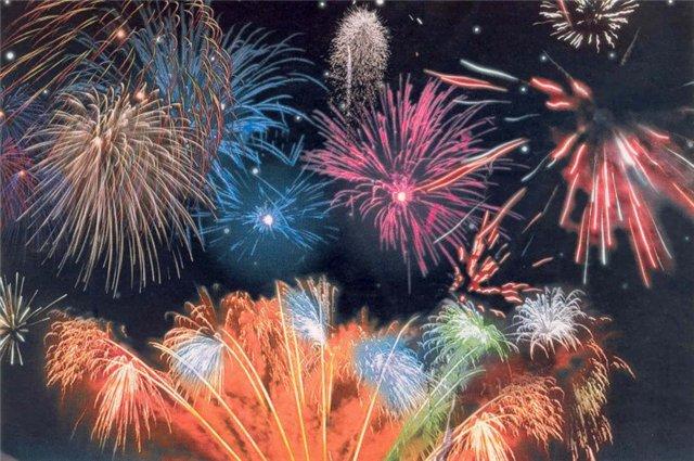 Салют Новый год 2013 Паттайя Таиланд