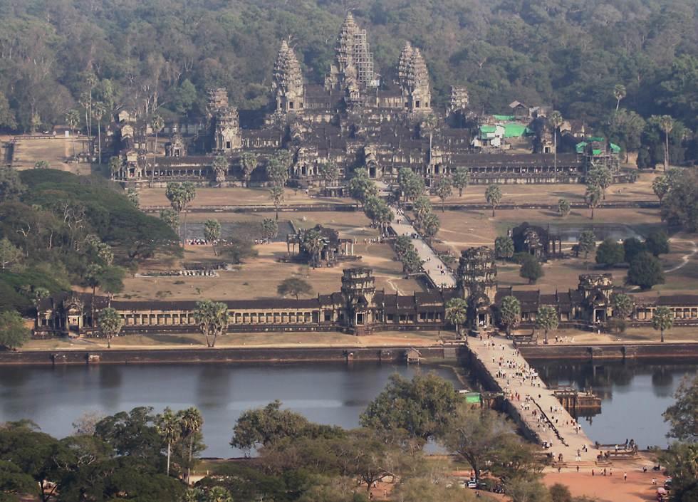Древние храмы Камбоджа Анкор Ват