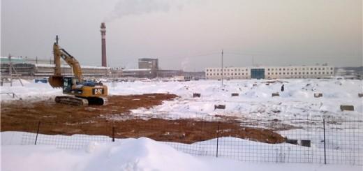 Строительство цементного завода в Щелково